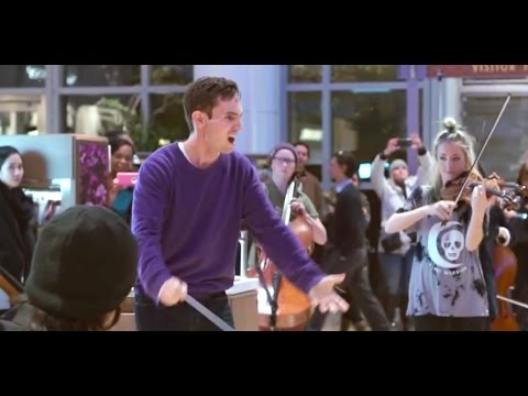 Flash Mob - Gustav Holst - The Planets: Jupiter (Berklee Contemporary Symphony Orchestra)