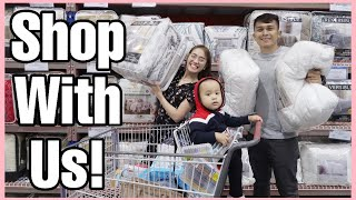 VLOG #116 TWO  DAYS OF SHOPPING FOR OUR NEW HOUSE!! (