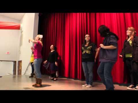 """Stereo Hearts"" Kidd Kraddick Classroom Musical-Mansfield Middle School Choir"