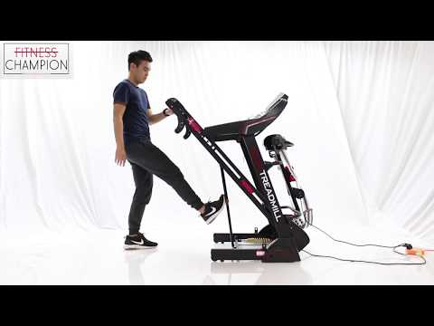 FITCHAMP: 3.0HP Multifunctional Luxury Electric Treadmill B With 1 Year Warranty!!