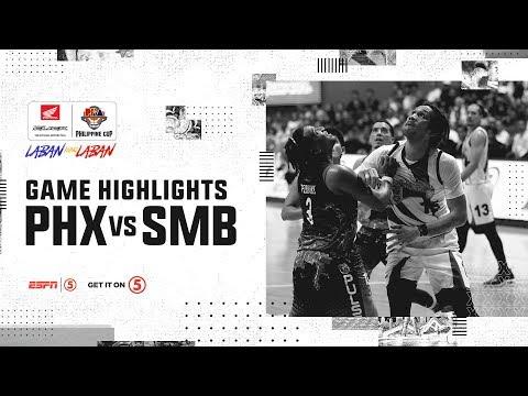 HIGHLIGHTS: San Miguel vs. Phoenix (VIDEO) Semis Game 2