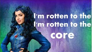 sofia carson- rotten to the core (español) lyrics