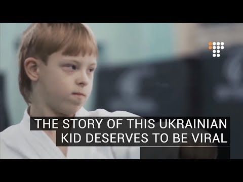 The Story Of This Ukrainian Kid Deserves To Be Viral