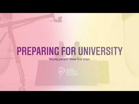 Preparing for University - Leeds Beckett