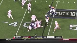 Ohio State at Penn State 2012 Highlights (Week 9)