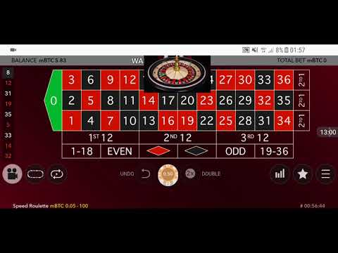 Roulett SYSTEM im Live Casino x5 Bankroll EASY BITCOIN ✔