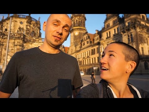 AMAZING CHURCH RECONSTRUCTION | Dresden, Germany | Full-Time Van Life
