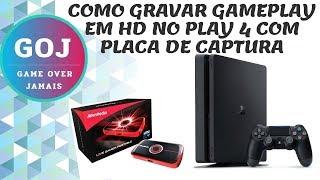 COMO GRAVAR GAMEPLAY EM HD DO PLAYSTATION 4 COM PLACA DE CAPTURA AVERMEDIA