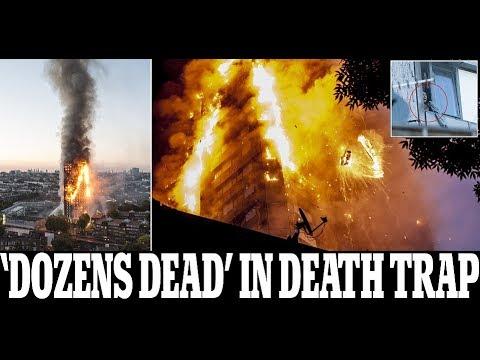 Children tossed from windows in London high-rise blaze