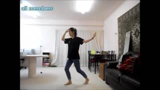 bts 방탄소년단 pt 2 run dance tutorial mirrored
