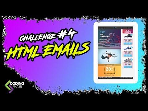 Web Developer Challenge #4 HTML EMAILS | #CodingPhase