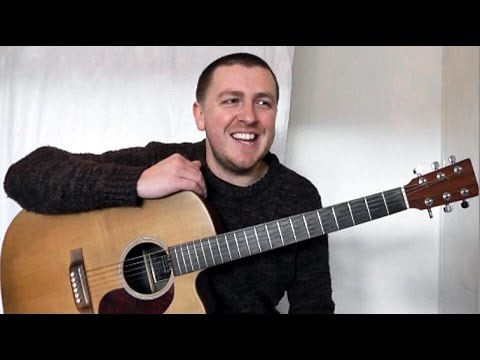 Mad World - Finger Style - Guitar Lesson - Gary Jules - Xmas Song - Drue James