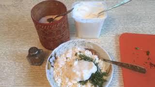 какие закуски из творога я готовлю
