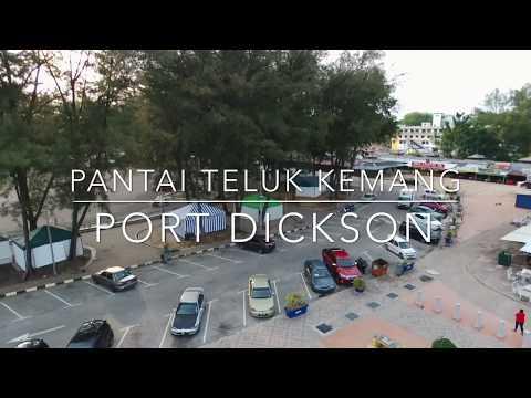 Video Drone Di Pantai Teluk Kemang Port Dickson