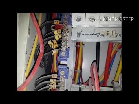 Electrical: DB: dressing and Cable installation wor. - YouTube/2018