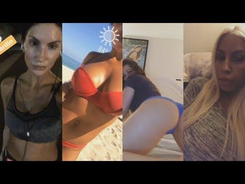 August Ames, Bridgette B, Dani Daniels, Cameron Canela & Anya Ivy | INSTAGRAM STORIES