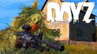 DayZ Standalone - Ghillie Suit - M4 - Getarnt am Airfield [Gameplay] Let's Play DayZ