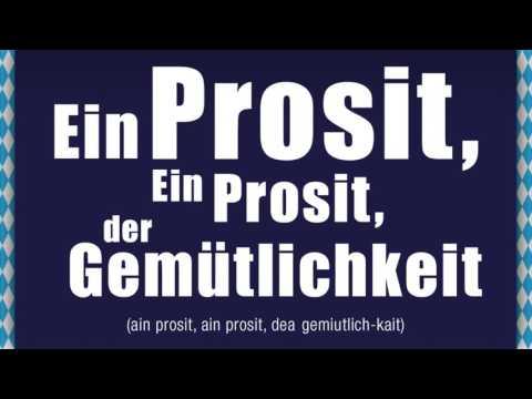 Canción del Oktoberfest: Ein Prosit