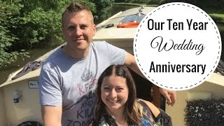 Our Ten Year Wedding Anniversary Holiday On Lancaster Canal