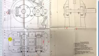 4. Анализ типовых ошибок графической части курсового проекта по деталям машин
