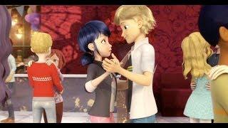 Marinette dançando com o Adrien