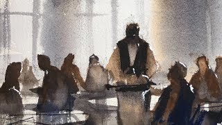 "Advancing with Watercolor: Tonal Values ""Musèe d'Orsay"""