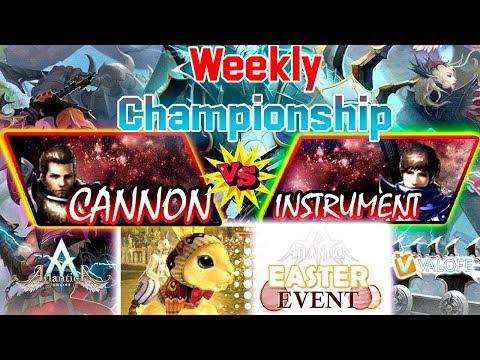 Sikyon Weekly 04/04/2020 PM: Semifinal - XSibeliuSX Vs MichiTo - Atlantica Online Valofe