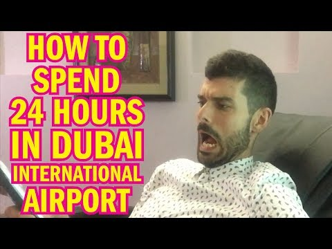 How To Spend 24 Hours In DUBAI INTERNATIONAL AIRPORT!