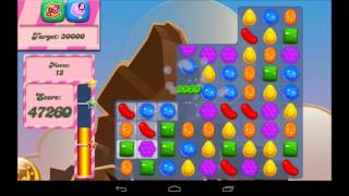 Candy Crush Saga Level 40 Walkthrough