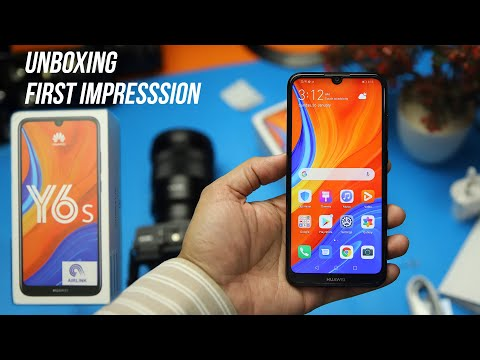 Huawei Y6s Unboxing and Quick Review / Price, Specs and Release Date - English Captions
