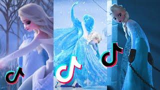 Elsa 💜 Found On TikTok Videyos 💜 Disney princesses 💜 Frozen 2 ❄ @Barbie Crafts Fun TR
