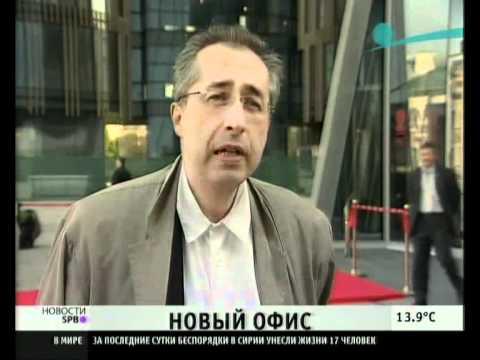 """Новый офис банка """"Санкт-Петербург"""""""