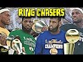What If Lebron James Was A RING CHASER His ENTIRE CAREER?! - CAREER SIMULATION ON NBA 2K19