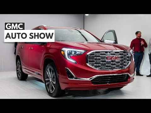 2018 GMC Terrain Compact SUV