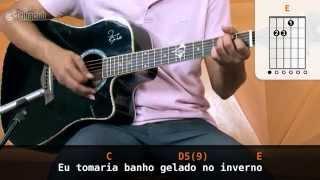 Por Você - Barão Vermelho (aula de violão)
