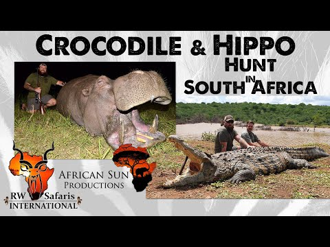 Croc and Hippo Hunting in South Africa, with Hunter Herbert, RW Safaris International and ASP.