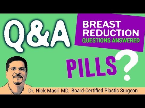 Breast Reduction PILLS? (Question Answered) 🚩