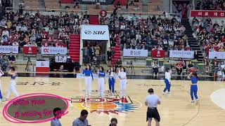 [근명고 동아리] 댄스동아리 MINE 안양KGC 농구경…