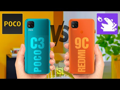 Xiaomi Poco C3 vs Xiaomi Redmi 9C - Comparison [Full Specifications] ©gadgetic