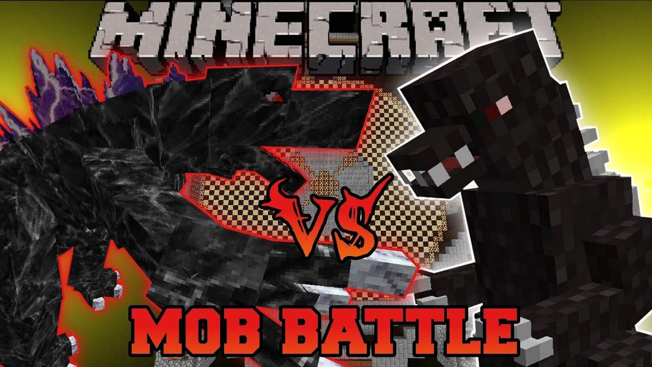 Godzilla Vs Mobzilla Minecraft Mob Battles Orespawn