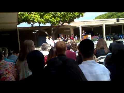 Goleta Valley Junior High School  Grad Ceremony Regina's speech - June 6, 2013