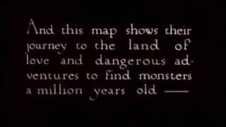 The Lost World trailer (1925)
