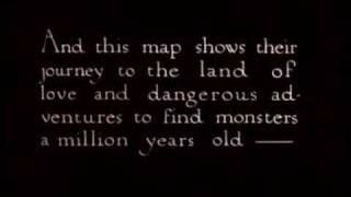 The Lost World trailer (1925)
