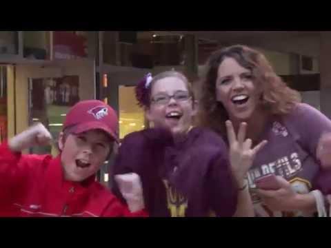 10/03/2015 - Arizona vs ASU at Gila River Arena
