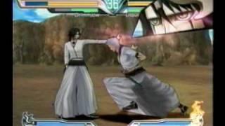 Bleach: Shattered Blade (Wii) - Grimmjow vs. Ulquiorra