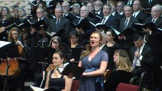Händel: Rejoice Greatly, O Daughter of Zion, from 'Messiah' - Jaely Chamberlain, Soprano