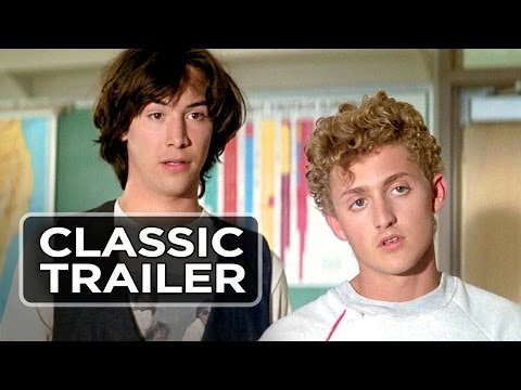 Bill & Ted's Excellent Adventure   1  Keanu Reeves Movie 1989 HD