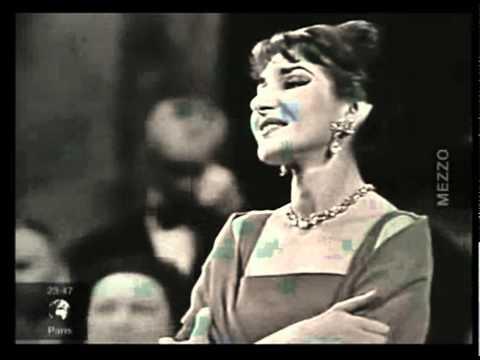 Maria callas zingt casta diva uit vincenzo bellini opera - Callas casta diva ...
