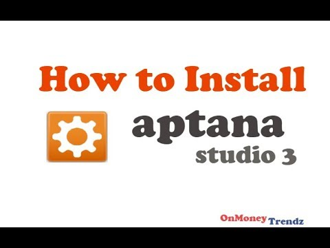 How to install Aptana studio 3   -  2015
