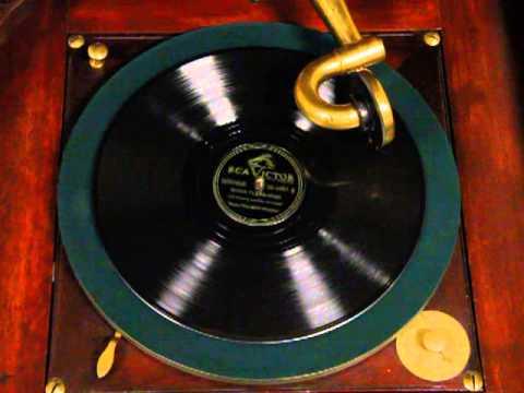 Victor Victrola Mahogany Vv Xvi Antique 1912 Phonograph